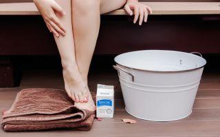 Соляные ванночки для ног при пяточной шпоре: подбор ингредиентов