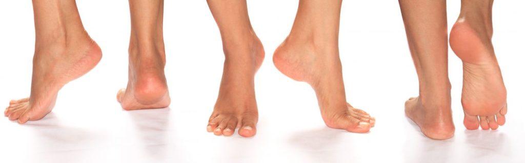ноги женщины
