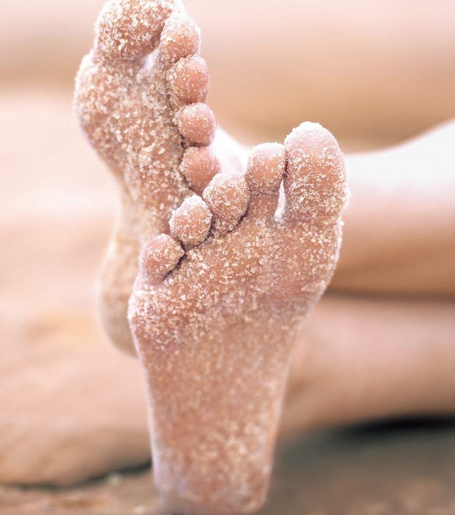 соль на ногах